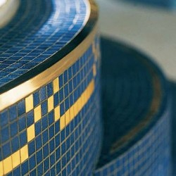 Roma - Italian Glass Mosaics Pool Tiles|On Plus System