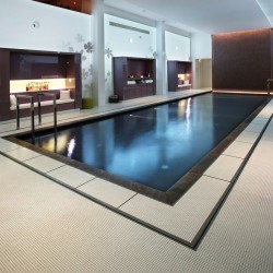 Bianca Italian Glass Mosaics Pool Tiles|On Plus System