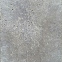 Silver Travertine Pavers Tumbled Crosscut