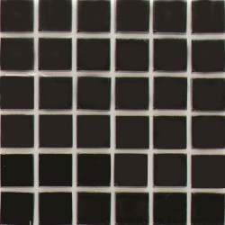 Crystal Glass Mosaic Black 50x50