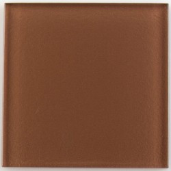 Crystal Glass Tile Chocolate