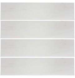 Dolomite White Honed Subway Marble 305x75
