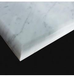 Carrara Honed Bullnose Step Tread Marble