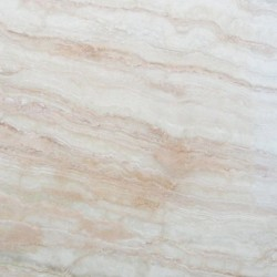 Crystal Cream Veincut Epoxy Filled Polished Travertine