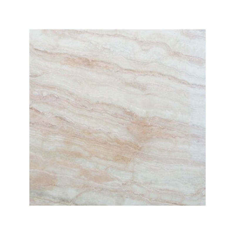 Travertine Crystal Cream - Vein Cut - Epoxy Filled & Polished