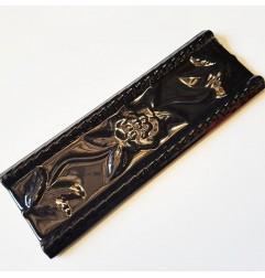Black Gloss Nerina Listello Ceramic Tiles