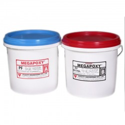 Megapoxy PF Grey Epoxy Paste Adhesive