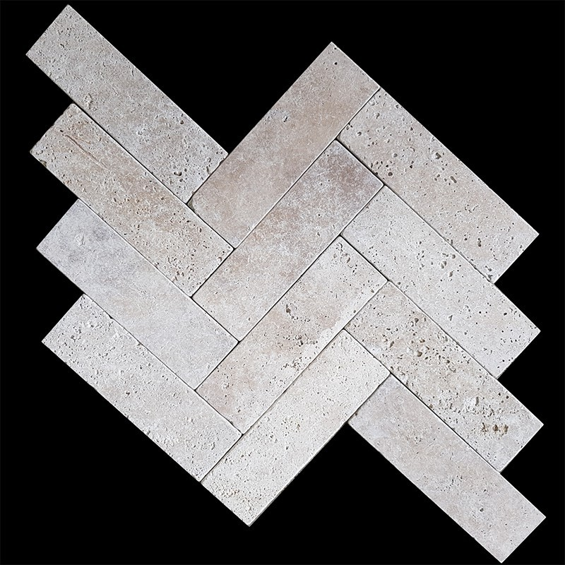 Classico Tumbled Paver Travertine 385x120