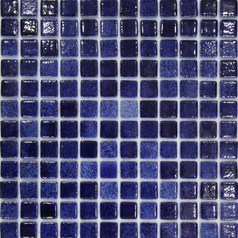Leyla Mykonos Glass Mosaic Pool Tiles