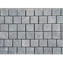 Pietra Grey Tumbled Brick Pattern Cobblestone Limestone
