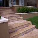 Travertine Noce - Cross Cut - Epoxy Filled & Honed