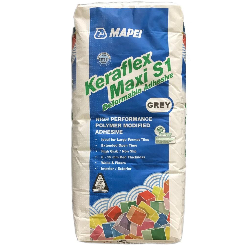 Mapei Adhesive Keraflex Maxi S1 Grey | Stone & Tile Adhesive