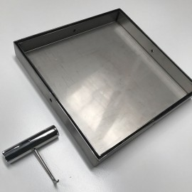 Hide Drain Cover Kit 314mm