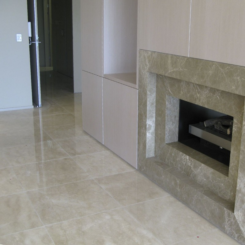New Marfil Marble Tiles Polished