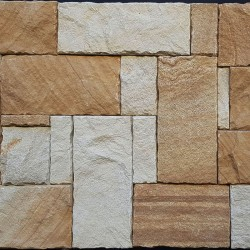 Australian Ranch Mix Colonial Split Face Sandstone