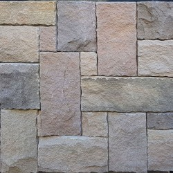 Australian Flinders Mix Colonial Split Face Sandstone