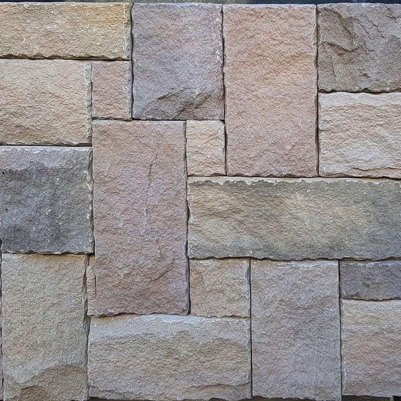 Australian Flinders Mix Colonial Split Face Sandstone