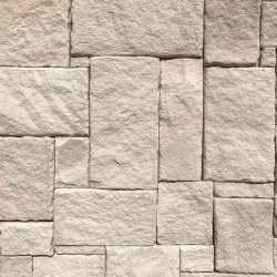 Australian White Mix Colonial Split Face Sandstone