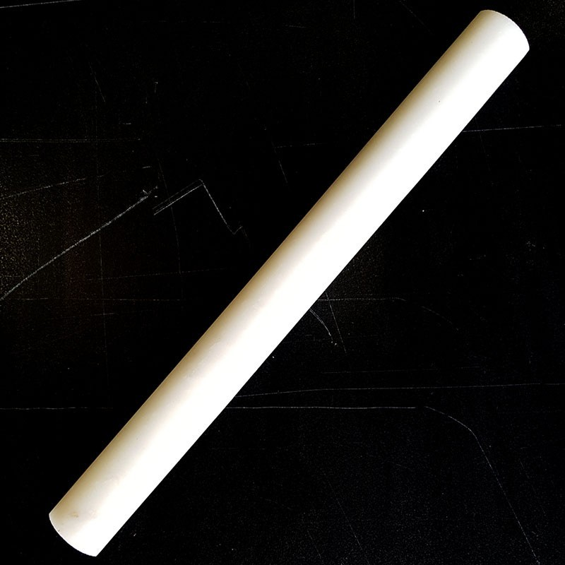 Elegant White Honed Bullnose Capping Marble 305x30