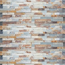 Rustico Slate Z Panel Stacked Stone
