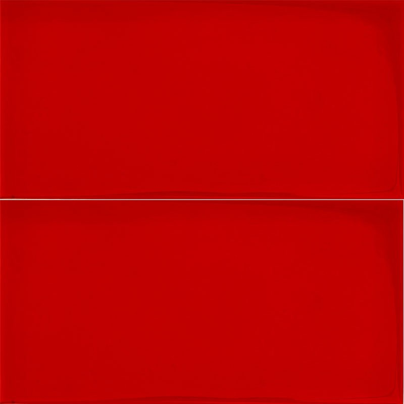 Spanish Rojo Red Gloss Non Rectified Subway Ceramic 200x100
