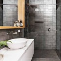 Spanish Nebbia Grey Gloss Vita Decor Mix Subway Ceramic 200x100