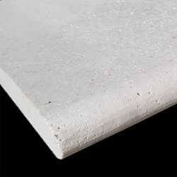 Sterling Silver Antique Bullnose Travertine