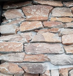 Alpine Teak Rock Panel Interlocking Granite