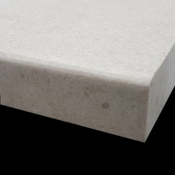 New Marfil Flamed Pencil Edge Step Tread Marble