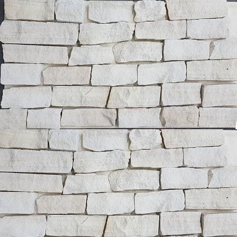 White Sandstone Ledgestone Quartzite
