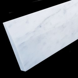 Carrara Honed Skirting Marble