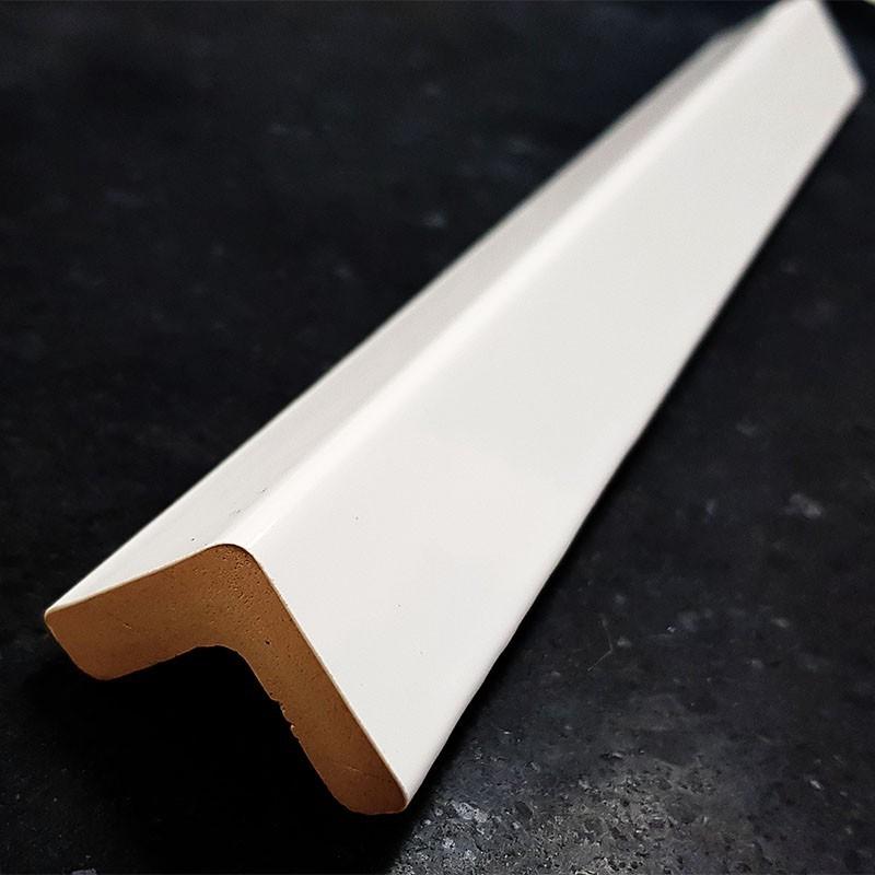 White Gloss External Corner Edge Trim Ceramic Tiles