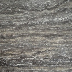 Travertine Multicolour Grey - Vein Cut - Epoxy Filled & Polished
