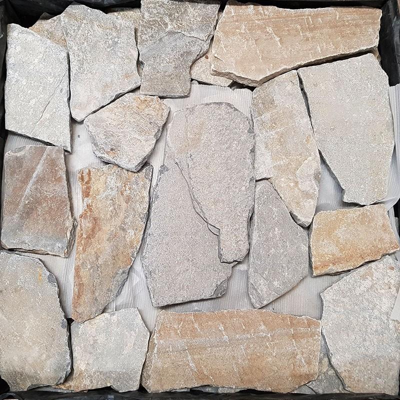 Alpine Blue Crazy Pattern Quartzite