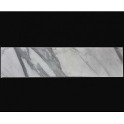 Calacatta Statuario Honed  Subway Marble 305x75
