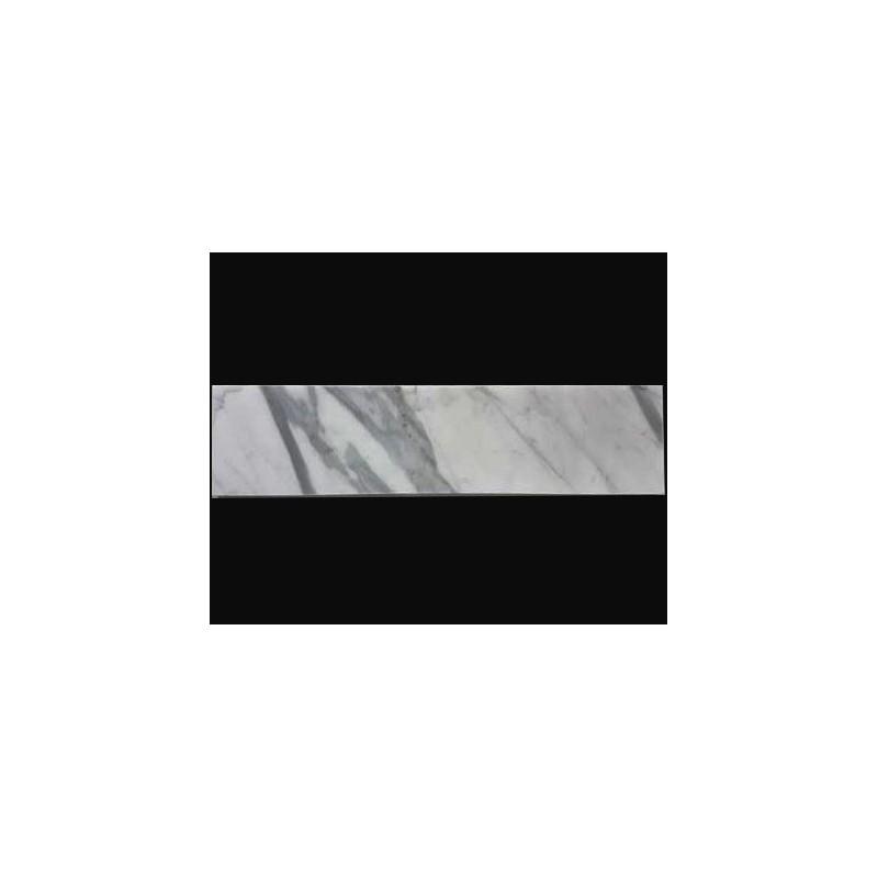 Calacatta Statuario Honed Subway Marble 305x75