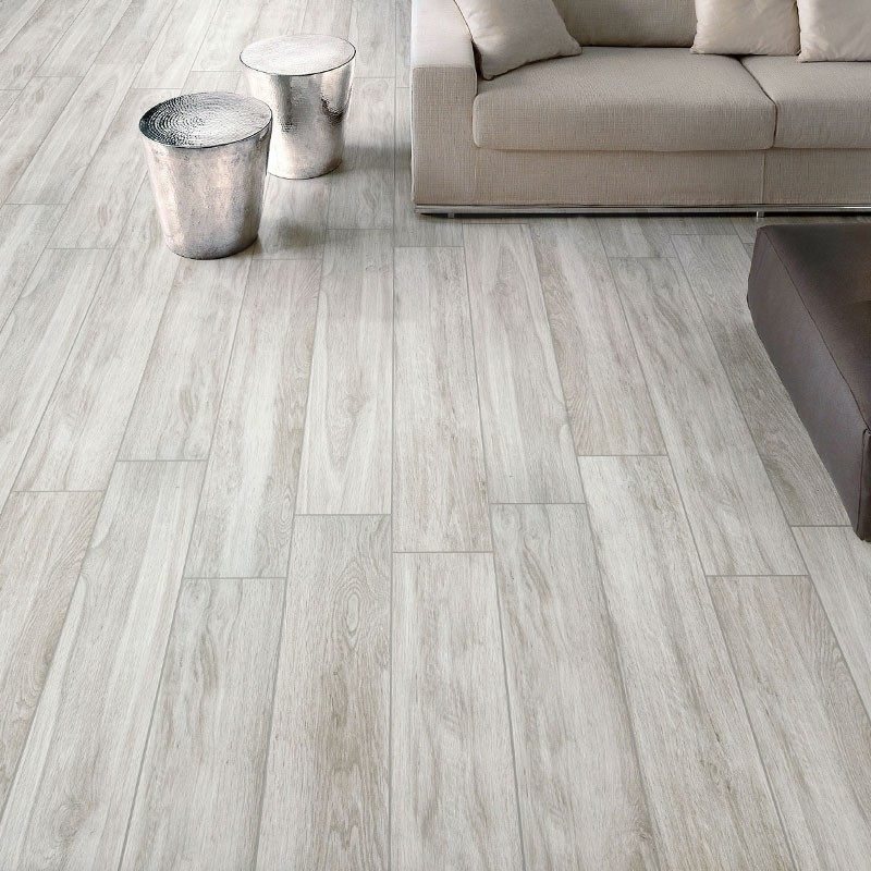 Amazon Grey Matt Timber Porcelain Tile