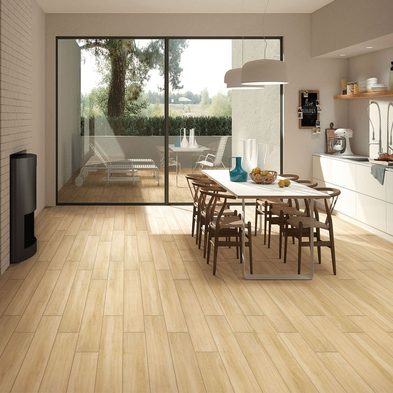 Sahara Beige Matt Timber Porcelain Tile