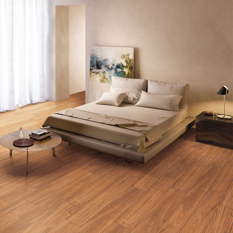 Cherry Wood Red Matt Timber Porcelain Tile