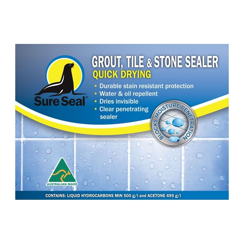 Sure Seal Quick Dry Grout, Tile & Stone Sealer