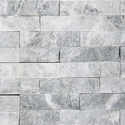 Grey Marble Z Panel Stacked Stone