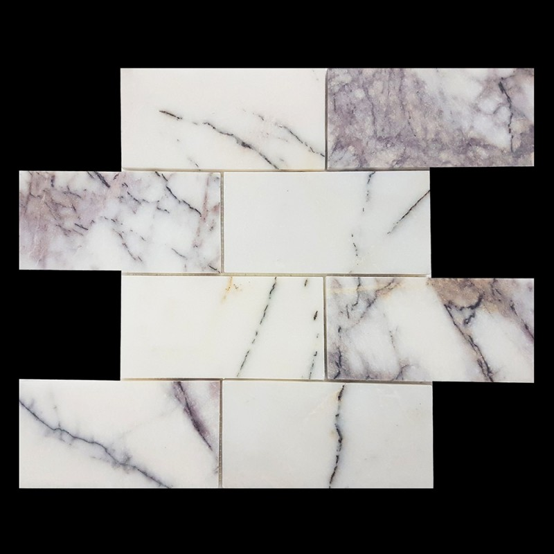 New York Honed Subway Sheeted Marble