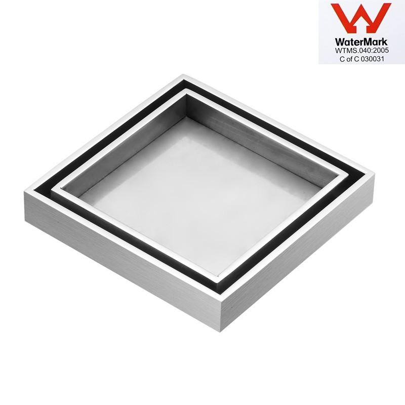 Tile Insert Silver Floor Drain