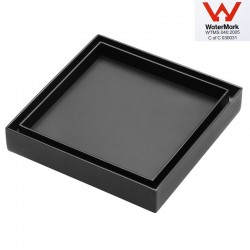 Tile Insert Matt Black Floor Drain