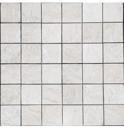 Bianca Perla Honed Limestone Mosaic 50x50