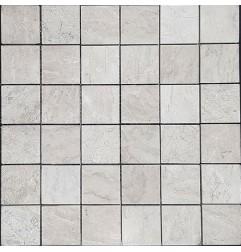 Bianca Perla Polished Limestone Mosaic 50x50