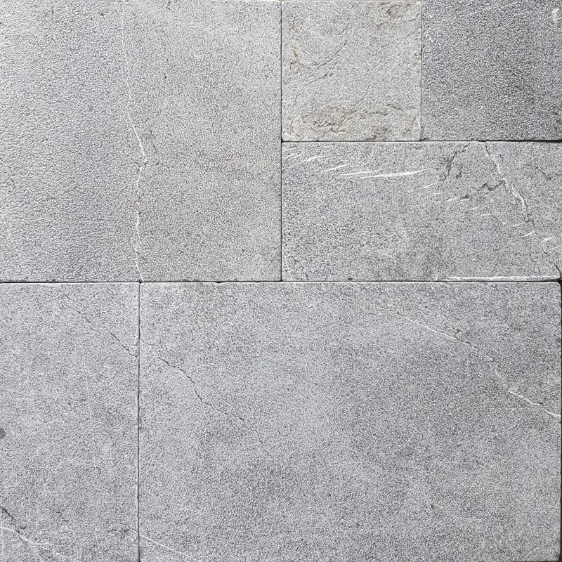 Pietra Grey French Pattern Antique Paver Limestone