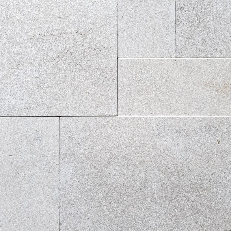 New Botticino French Pattern Antique Paver Marble