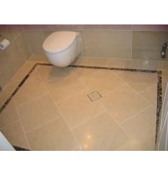 Royal Botticino Marble Tiles - Honed