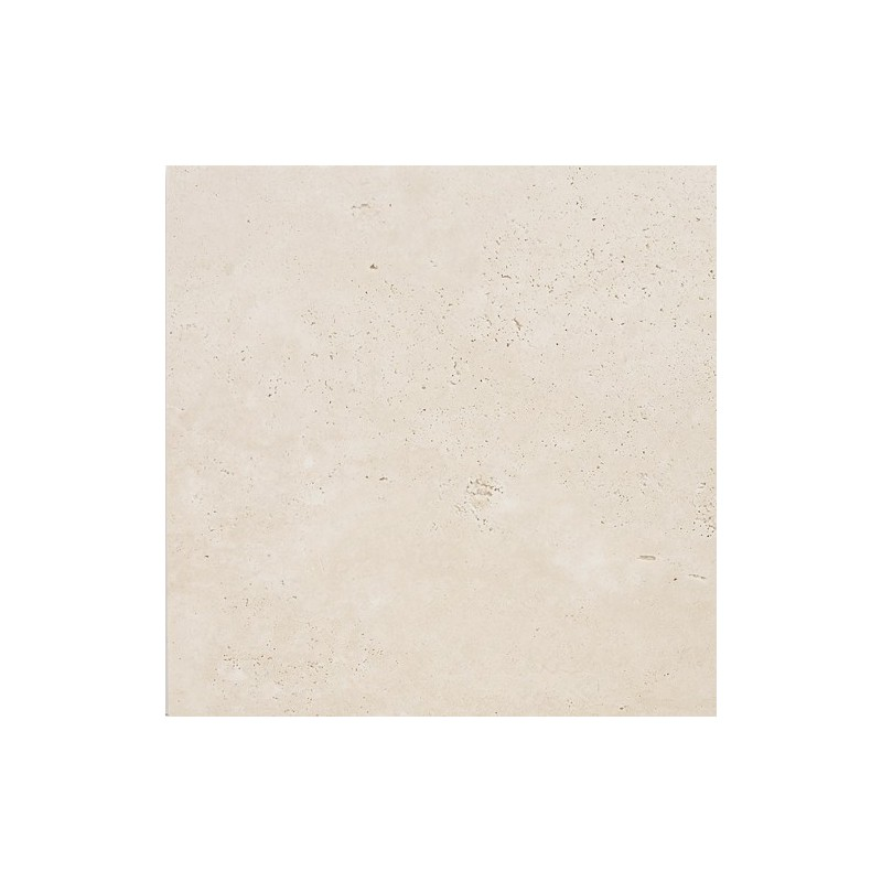 Travertine Chiaro (White) - Cross Cut - Unfilled & Honed - Light Shade